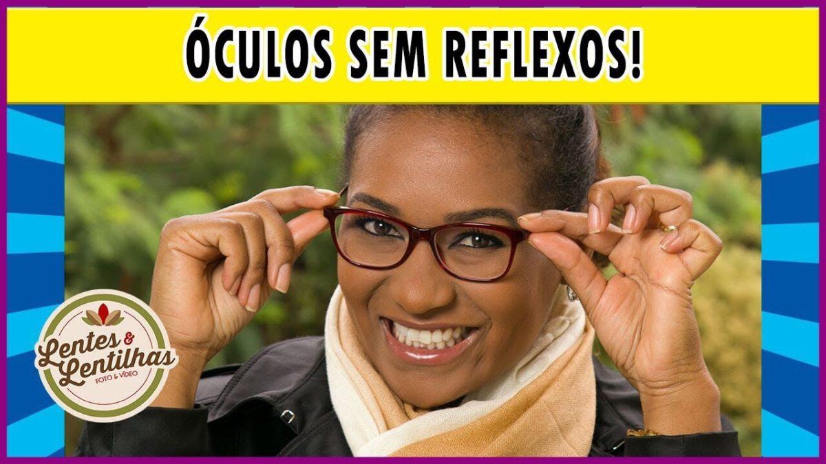 Como evitar reflexo de flash nos óculos