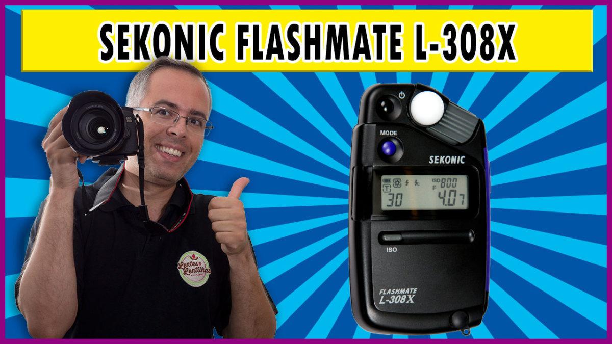 Sekonic Flashmate L-308X   fotômetro e flash meter   Review em português