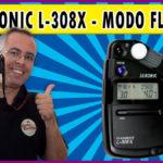 Sekonic L-308X  Modo Flash Meter