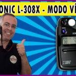 Sekonic L-308X | Modo vídeo