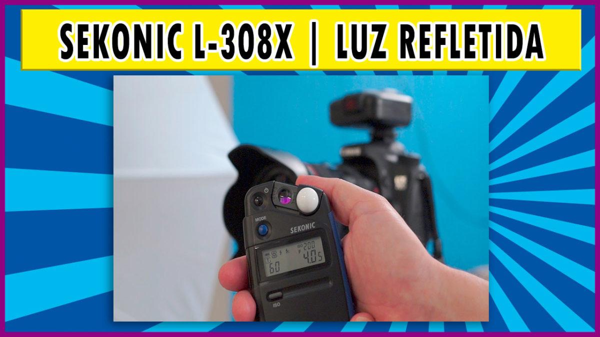 Sekonic L-308X   Modo de medição por luz refletida