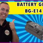 Battery Grip Canon BG-E14  – Review e instruções de montagem