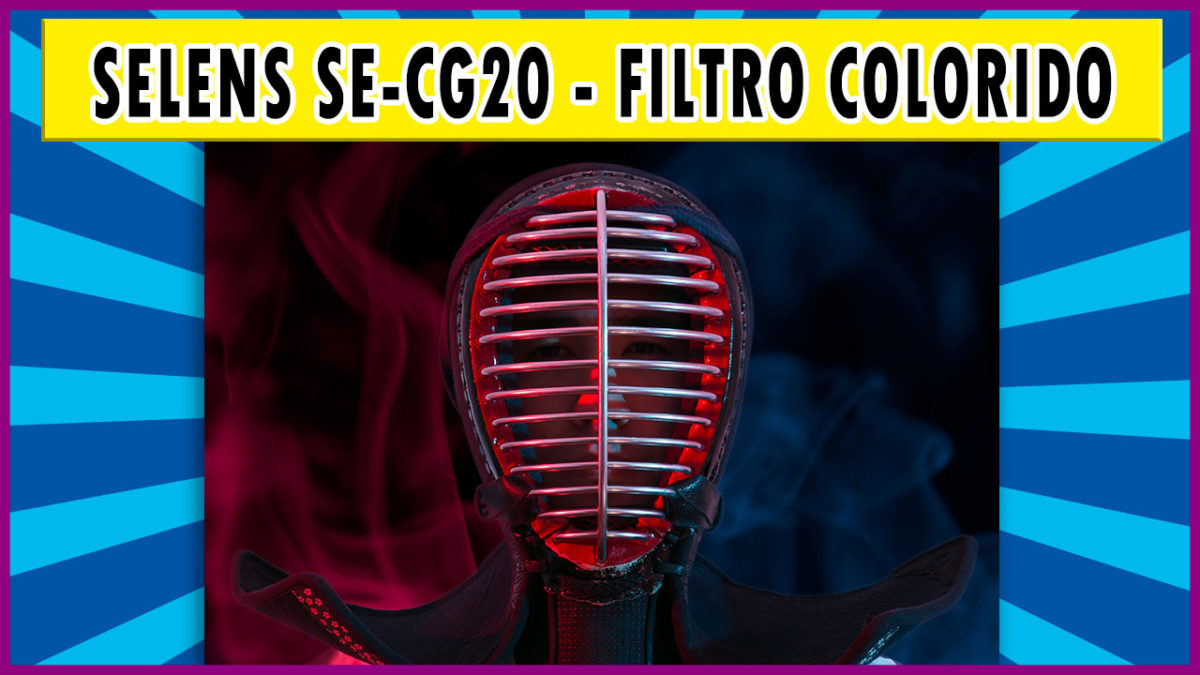 Selens SE-CG20 – Filtro colorido para flash dedicado