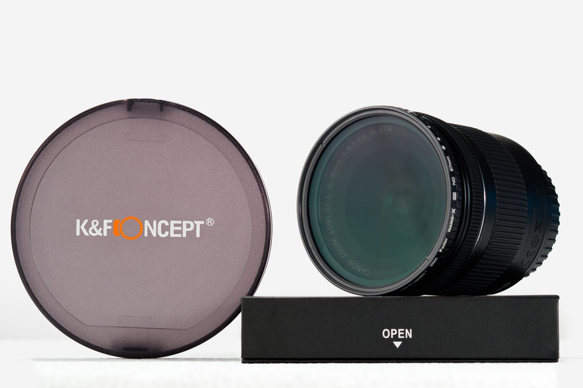 K&F Concept – Review do filtro ND2-ND32