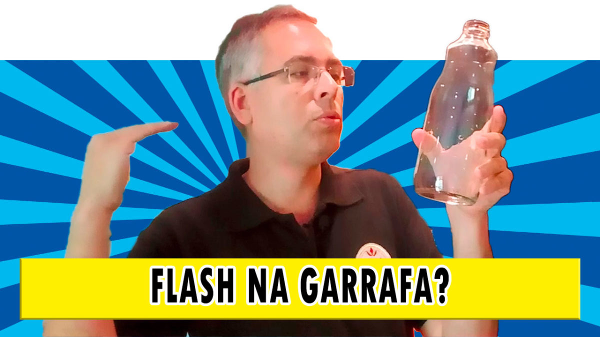 Flash na garrafa: será que dá certo?