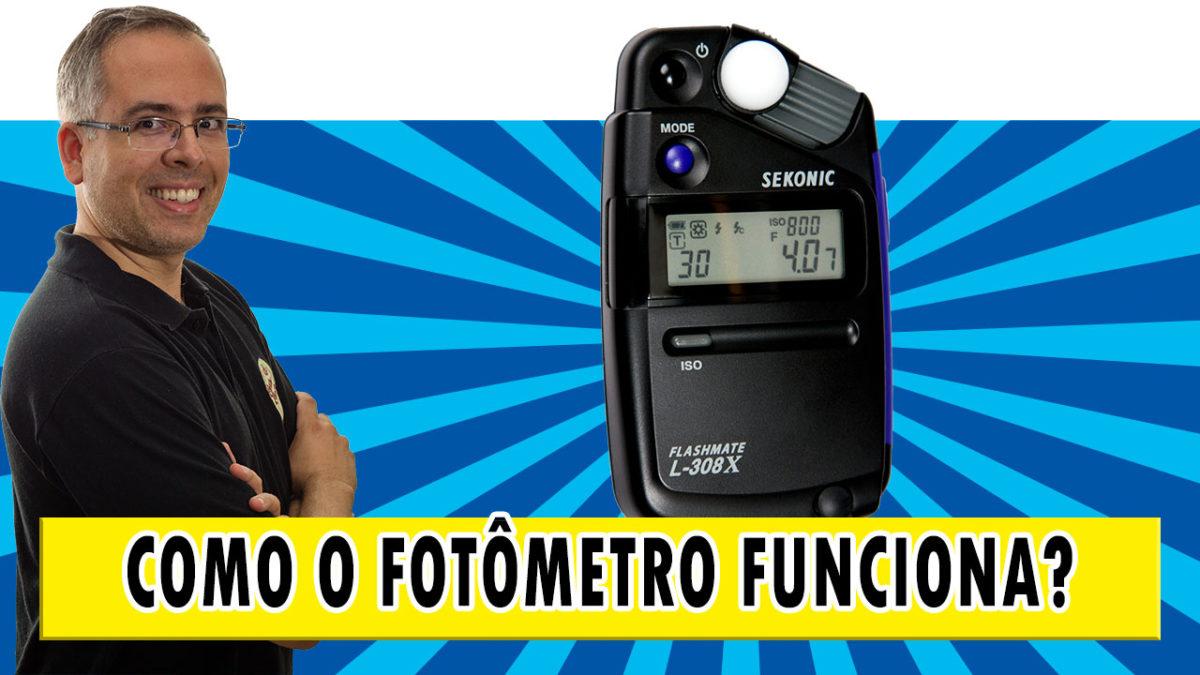 Como o fotômetro funciona?