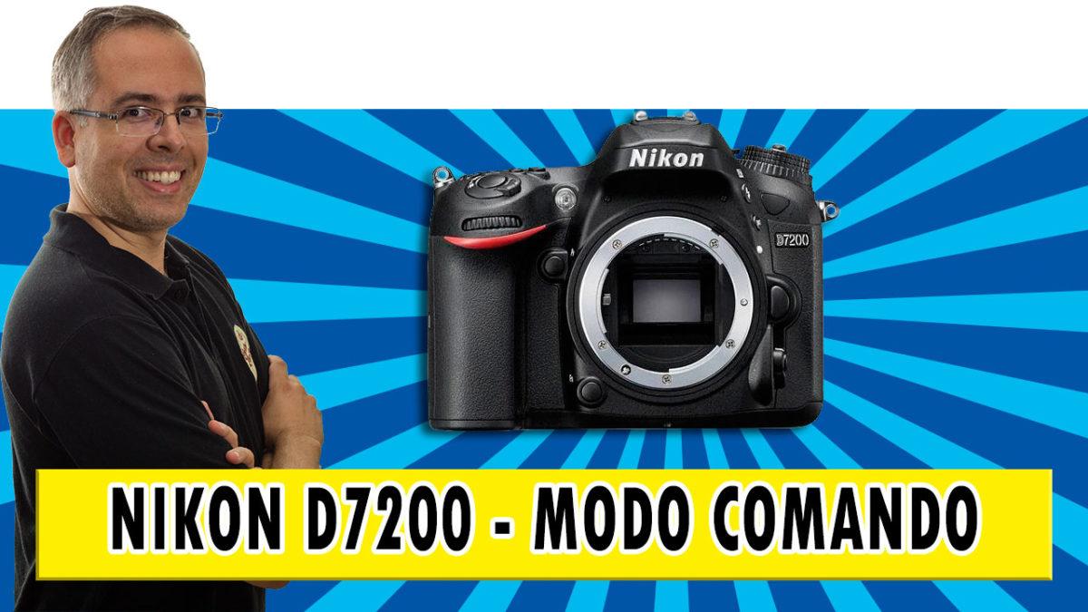 Como configurar o modo comando do flash pop-up da sua DSLR Nikon D7200