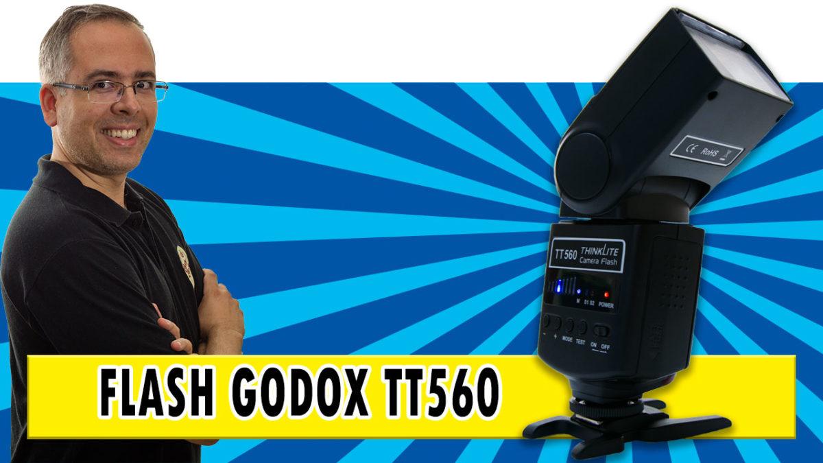 Flash Godox TT560 – O Flash Raíz