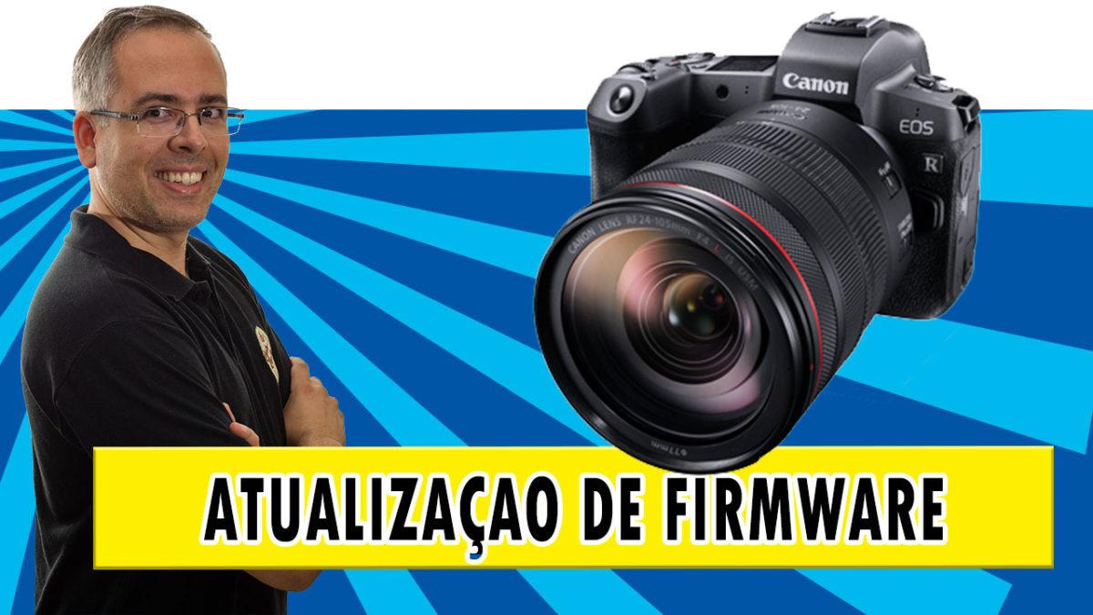 Como atualizar o firmware da câmera Canon EOS