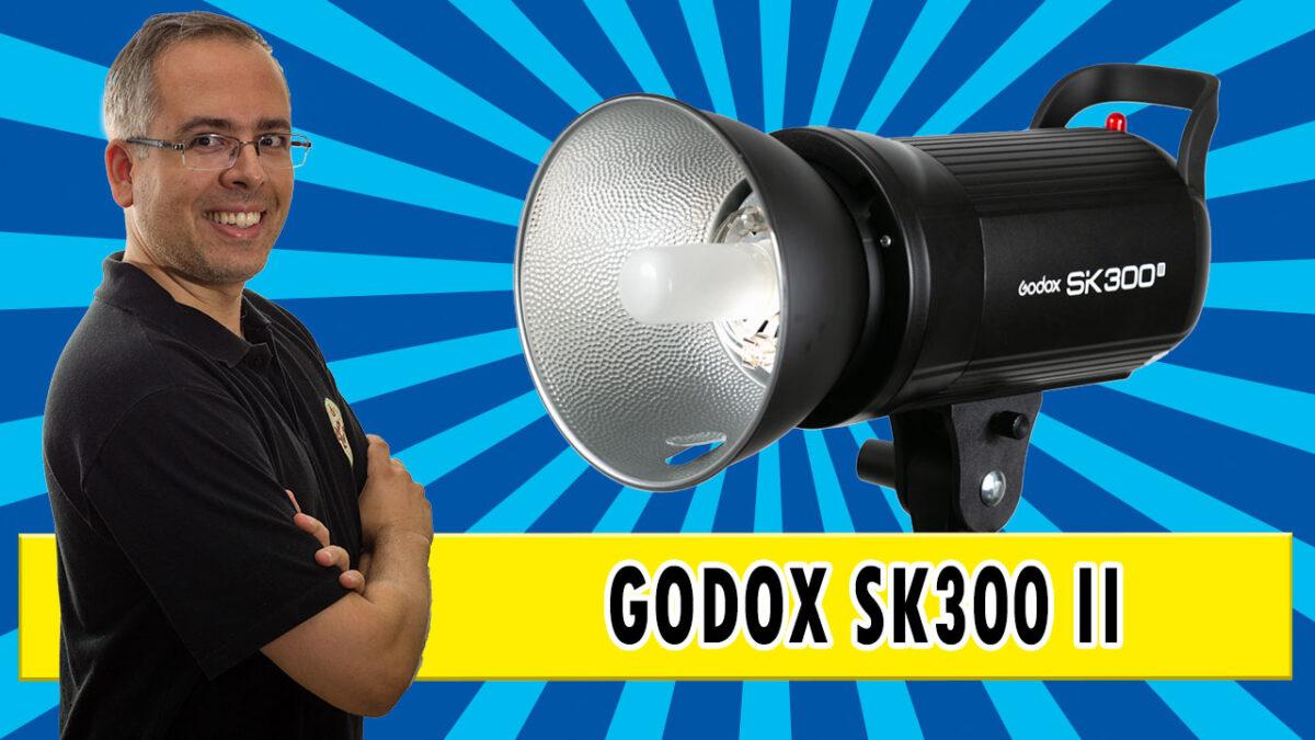 Flash Godox SK300II – review do flash de estúdio compacto